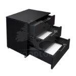 kontenerek czarny otwarte szuflady 2