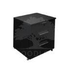 kontenerek czarny zamkniete szuflady