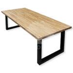 stol drewiany blat woodlft